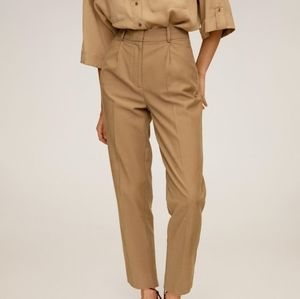 NWT pleated trousers by Mango (Sustainable!)